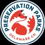 Logo for preservation parks of Delaware County