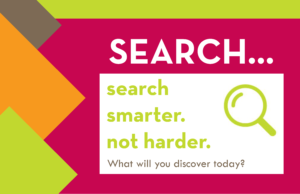 Search smarter, not harder.