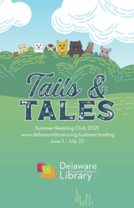 Tails & Tales Summer Reading Club 2021, June 1 - July 23